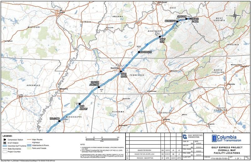 FERC OKs Part of Gulf XPress Pipeline for Service | Pipeline & Gas