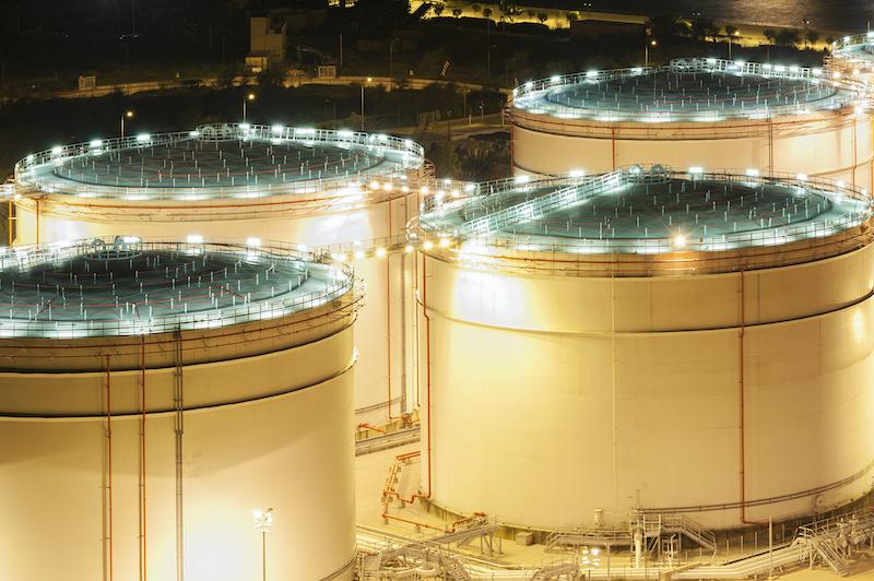 Shrinking U.S. Oil Stocks Point to Market Rebalancing