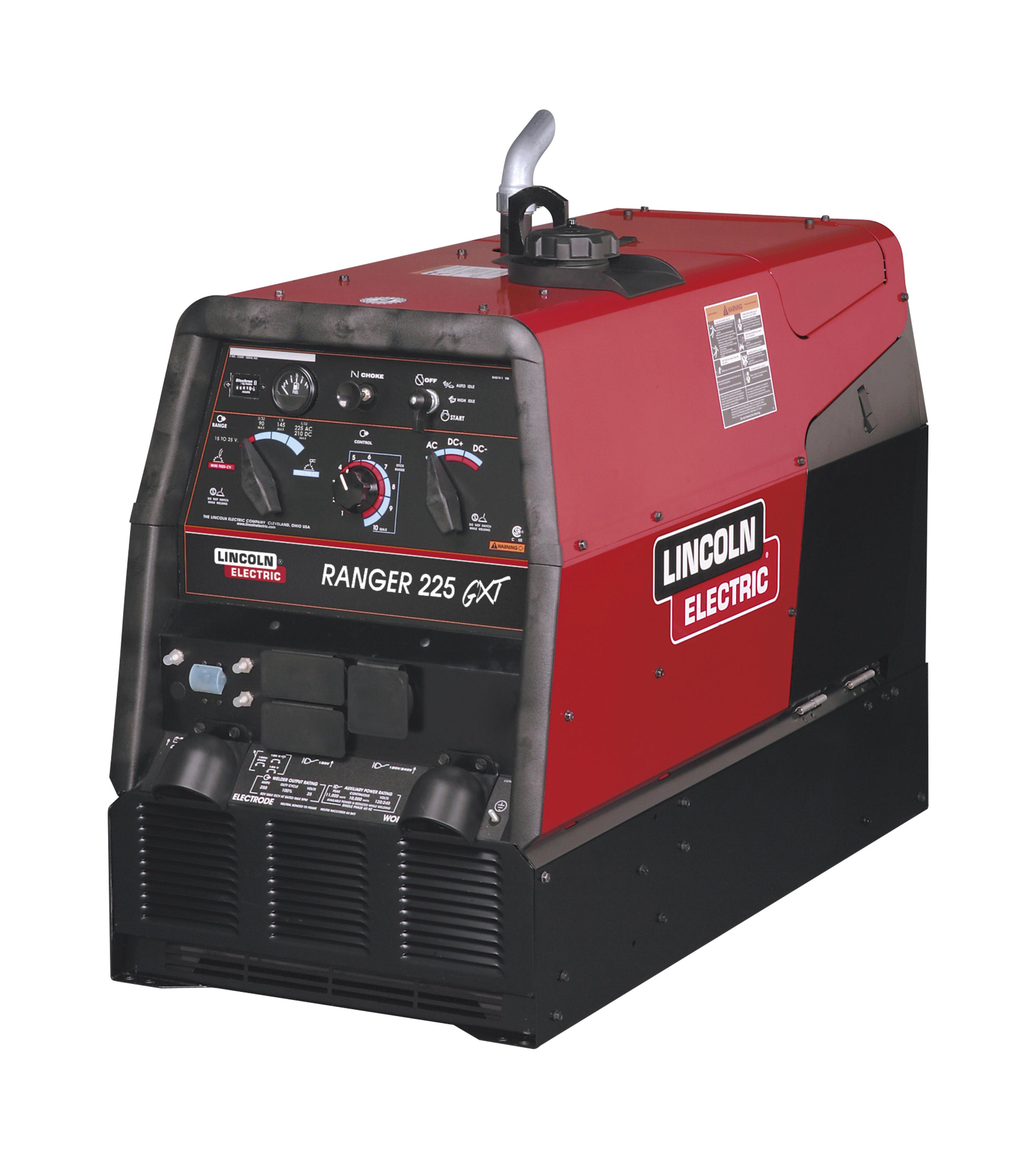 review lincoln best welder generator driven bulldog mig engine